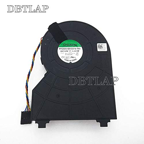 DBTLAP Foxconn PVB120G12H-P01 J50GH-A00 J50GH 0J50GH 12V 0.75 4Wire Compatible for DELL OptiPlex 790 390 990 SFF CPU Fan Cooling Fan