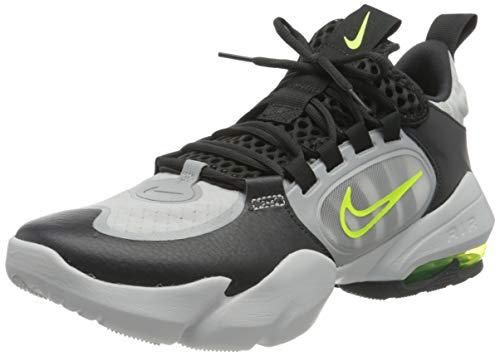 Nike Herren Air Max Alpha Savage 2 Cross Trainer, Dark Smoke Grey/Volt-Light Smoke Grey-Photon Dust-Volt, 46 EU