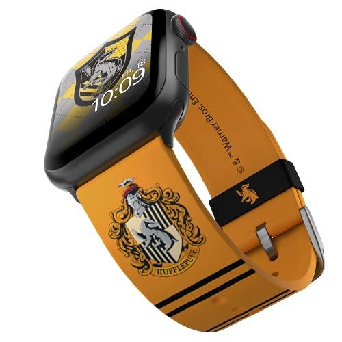 Harry Potter - Hufflepuff Correa para smartwatch con licencia oficial, compatible con Apple Watch...