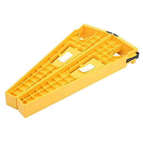 Instalación de rieles para cajones Plantilla deslizante para cajones 2 uds. Gabinetes para herramientas que ahorran mano de obra. Posición de riel para accesorios de montaje de muebles.