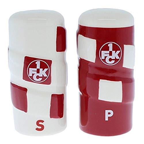 1. FC Kaiserslautern Salz und Pfeffer Streuer Schal FCK - Plus Lesezeichen I Love Kaiserslautern