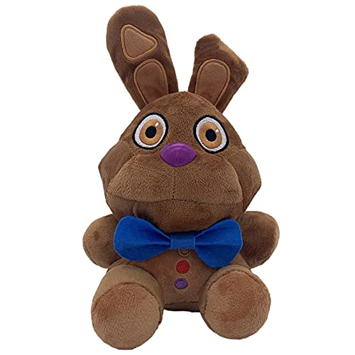 Chocolate Bonnie Rabbit 9 Inch - Five Nights at Freddy's Plush Toys FNAF Stuffed Doll Gifts for Fans