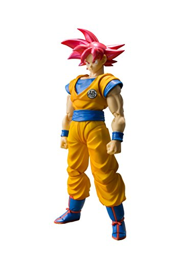 "Bandai Tamashii Nations S.H. Figuarts Super Saiyan God Son Goku ""Dragon Ball Super"" Action Figure -  BLVAO, BAN17564"