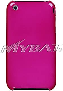 MyBat Apple iPhone 3GS/3G Solid SLIM Back Protector Cover - Retail Packaging - Hot Pink