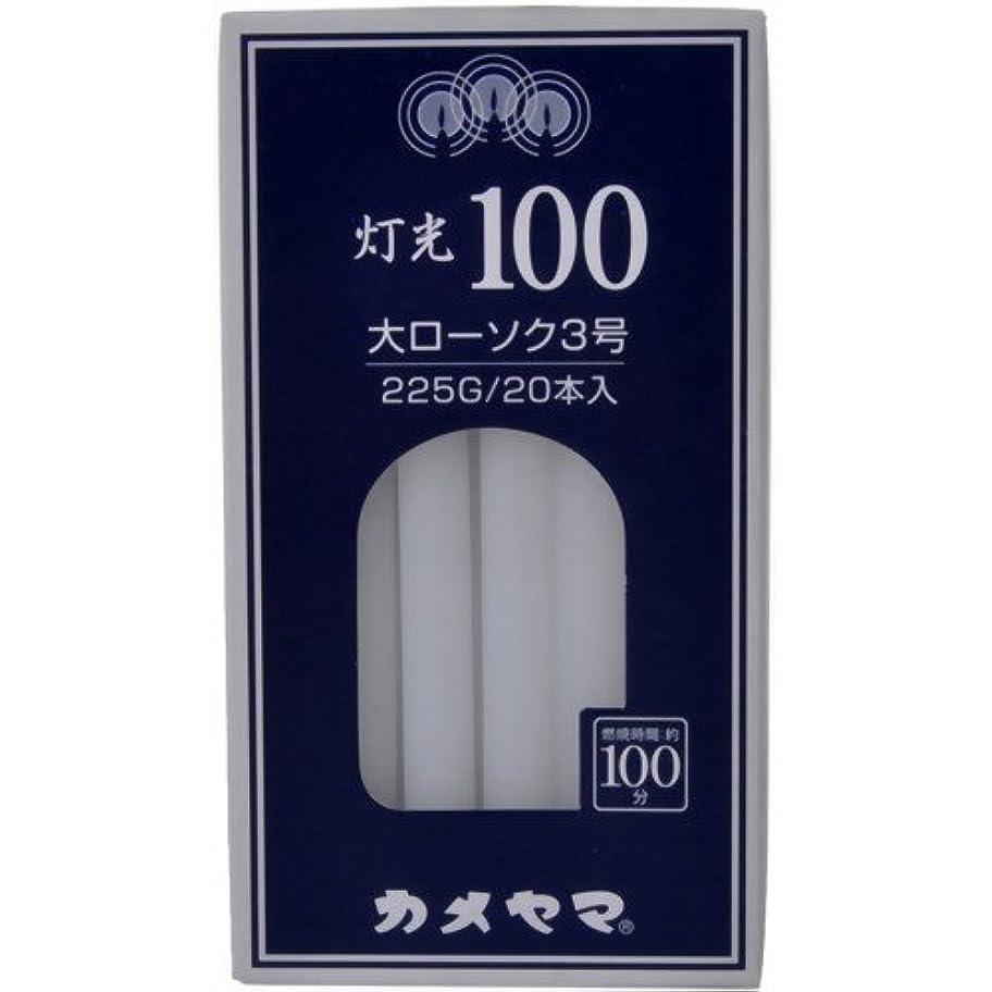 ニコチン習字委員会灯光100大3号225G