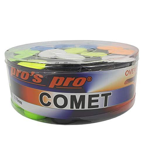 Pro's Pro Squash Comet Overgrip - Cintas para raquetas de tenis (30...