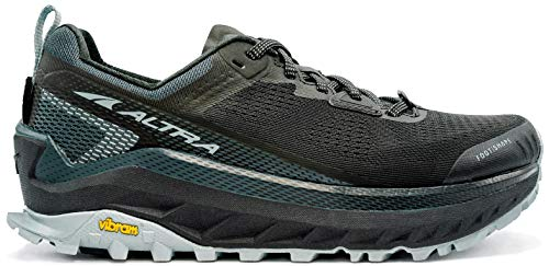 ALTRA Women's AL0A4VQW Olympus 4 Trail Running Shoe, Black/Light Blue - 12...