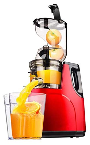 Juicer Masticating Juicer Machine, exprimidor de prensa en frío for verduras de frutas, FUNCIONA DE INTERIOR DE MOTOR DE BPA, Free BPA, extractor de jugo for apio, Kale, Zanahoria licuadoras para zumo