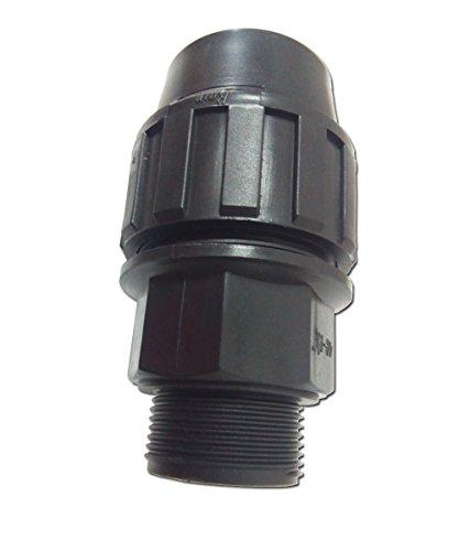 Rc Junter 5025 – Liaison Filetage mâle 25 mm, Couleur Noir