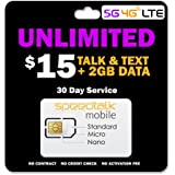 SpeedTalk Mobile Unlimited Call (Talk) & Text (S