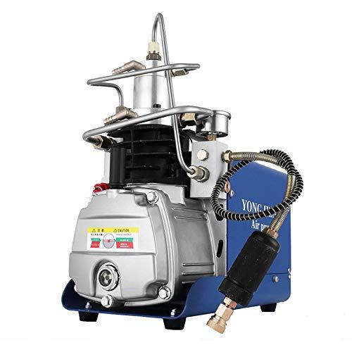 Smarketbuy 110V 30MPa Electric Air Compressor Pump High Pressure Airgun Compressor Rifle PCP Inflator Air Pump (30Mpa air compressor)