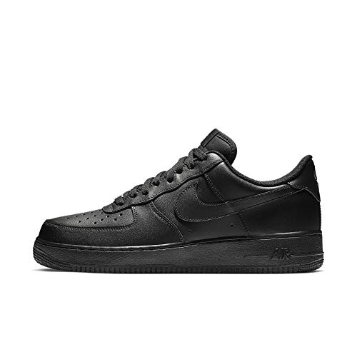 Nike Air Force 1 '07, Zapatillas de bsquetbol Hombre, Negro, 45 EU
