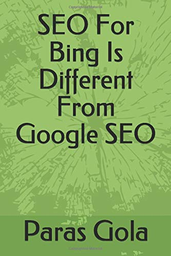 SEO For Bing Is Different From Google SEO