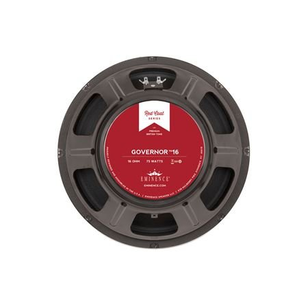 Eminence Red Coat The Governor 12 Inch Guitar Speaker 75 Watts - (16 Ohm)