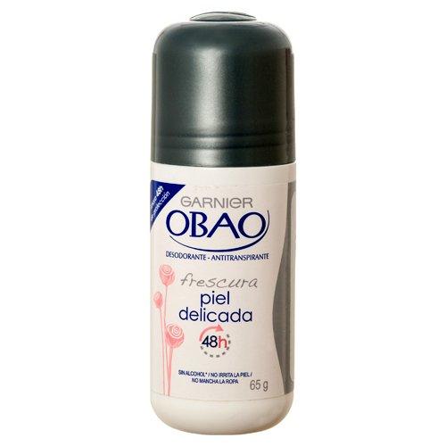 Obao Delicate Skin 48h Deodorant Antiperspirant Roll On by Garnier 2.3 oz (6 pack)