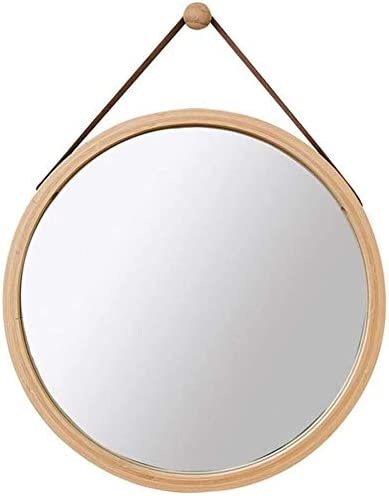 WFZCP Wall Hanging Vanity Mirror Brand new Makeup Fra Round Direct sale of manufacturer Mirrors Bamboo