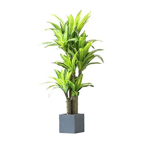 Kiter Kunstpflanze Neue Große gefälschte Bäume Grün Pflanze Fragrant Drachenblut-Baum Bonsai Künstliche Baum Künstliche Pflanze Home Decoration kunstbäume deko (Größe : 156cm)