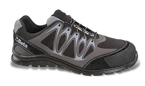 Beta 7341N 44 - Schuhe aus Mikro-Wildleder, wasserabweisend, mit Hochfrequenz PU-Einsätzen und verstärkter Überkappe aus Spaltwildleder