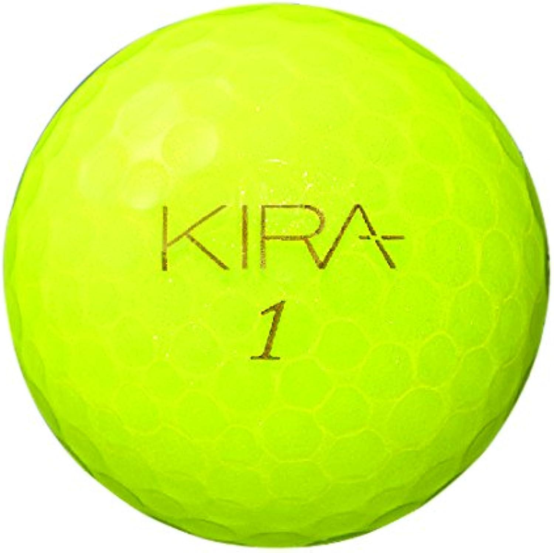 Kasco KIRA KLENOT 12 balls 1 dozen 2014 model color yellow diamond