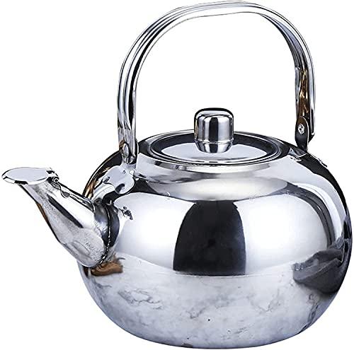 Czajnik ze stali nierdzewnej, czajnik, ekspres do kawy wynoszą 0. 8L, 1.3L, 1.8L, 2.3L Może być używany w restauracji, salonie, kawiarni wangYUEQ (Size : 2.3L)