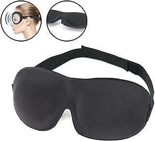 SYGA 3D Sleep Eye Mask Blindfold, Luxury Silky Contoured Eye Cover_Set 1