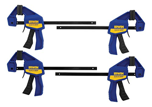 IRWIN Quick-Grip Clamps, One-Handed