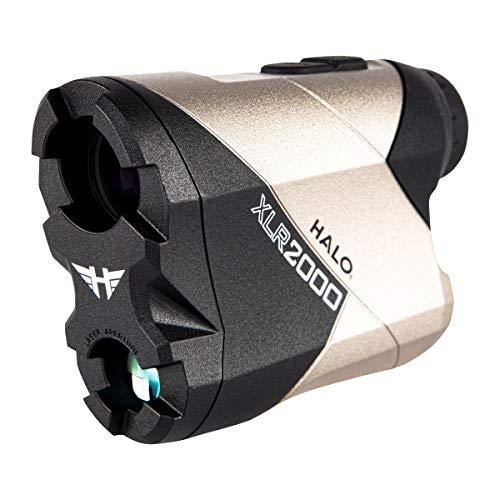 Halo Optics Range Finder XLR2000 | Hunting Laser Range Finder, Accurate Up to 2000 Yards, Black & White, one Size (HALRF0108)