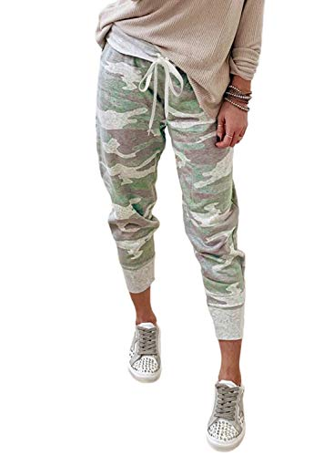 ALWAYS Women Drawstrings Jogger Sweatpants Tag S//M Skinny Fit Premium Soft Stretch Pockets Track Pants Paisley US S