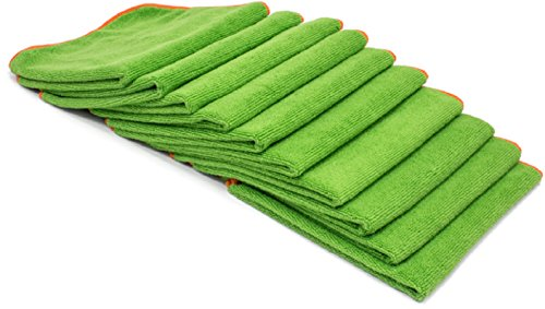 Antimicrobial, Antibacterial Microfiber Cleaning Cloths with EPA Registered DG-300 Silverclear, a Proven Killer of Viruses and Bacteria. Go Beyond Ordinary Cleaning. 10 Washable and Reusable Cloths