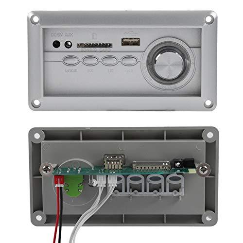 DAUERHAFT Placa de decodificación de Altavoz MP3 portátil Multifuncional de Audio Bluetooth, Taburete de sofá, Placa decodificadora Compatible con MP3 WMA WAV FLAC