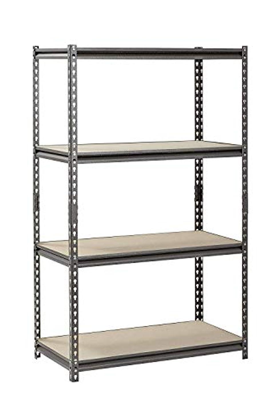 Silver Vein Steel Storage Rack, 4 Adjustable Shelves, 3200 lb. Capacity, 60