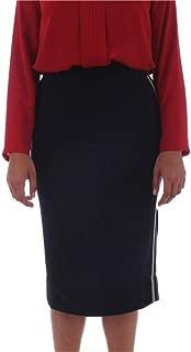 Elena Mirò Luxury Fashion Womens 1628L020BM33 Black Skirt | Fall Winter 19