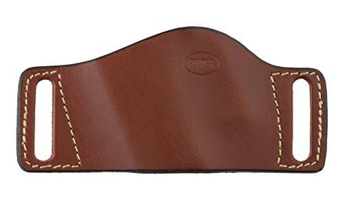 Hunter Company 1505 Belt Slide Holster fits Large Frame Double Stack Semi Autos, Chestnut