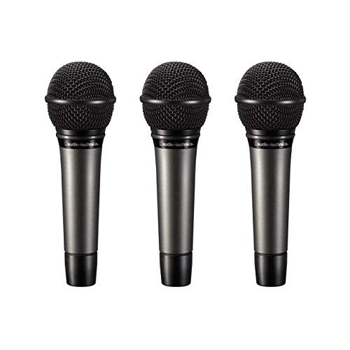 Audio-Technica ATM510PK Dynamic Cardioid Handheld Vocal Microphones (3 Pack)