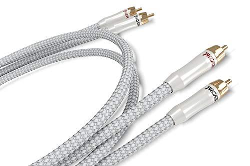 Ricable PR1 Primus Signal 2 x 1 mt - Cavo Hi-Fi Audio Stereo RCA di segnale