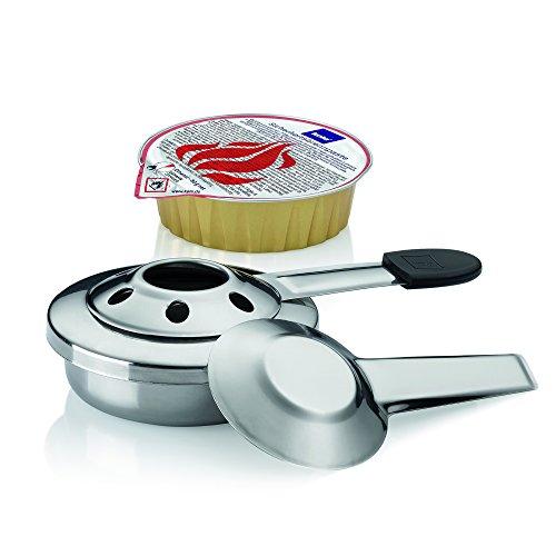 Kela 63067 Pastenbrenner mit Brennpaste, Geruchslos, 1,5 h Brennzeit, 80 g, Vesuv