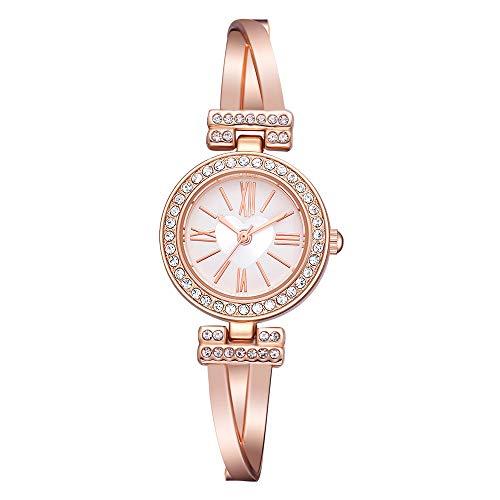 qwersbb Relojes, Relojes De Pulsera De Mujer, Relojes De Amor Incrustados En...