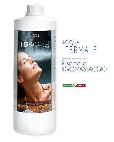 Eau Thermale, Parfum Exotic – Thermal Bath Exotic 1 lt. – Parfums pour jacuzzi, Spa et piscine. Expédition immédiate