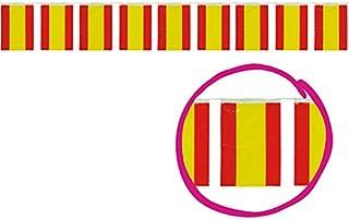 25 Metros Color Blanco Guirnalda con Flecos FIESTAS GUIRCA 8800