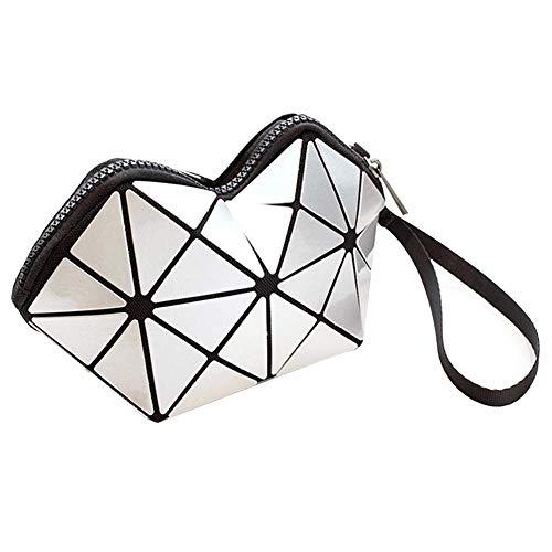 Wlylyh Make Up Bag Portable Voyage Cosmetic Bag Pouch Voyage Maquillage Pouch Organisateur De Stockage pour Les Femmes Fille