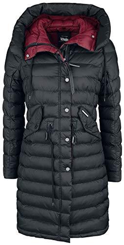 khujo Soleila Frauen Wintermantel schwarz L 100% Polyamid Basics, Casual Wear, Streetwear