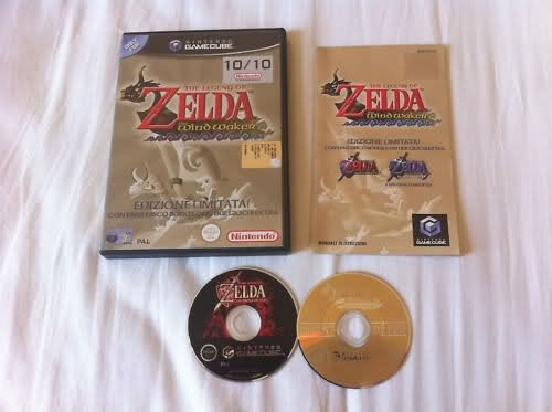 The Legend of Zelda the wind waker limited edition GC Ita