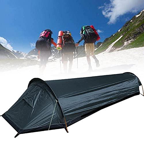 Persönliches BIVY-Zelt – Kompaktes Einpersonen-Rucksack-Biwakzelt – 100 wasserdichte Ultraleicht-Schlafsack-Abdeckung Bivvy-Sack für das Überleben im Freien, schnell und einfach aufzubauen