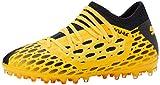 PUMA Future 5.3 Netfit MG JR, Botas de fútbol Unisex niños, Amarillo (Ultra Yellow Black), 33 EU