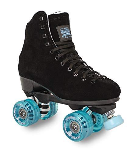 Boardwalk Black Outdoor Roller Skate - Blue Motion (Mens 10 - Womens 11)
