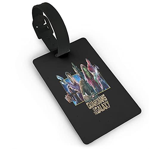 Etichette per valigie, unisex, con scritta 'Guardians of The Galaxy', per valigie, per bagagli, con copertina per la privacy, per navi da crociera, accessori da viaggio