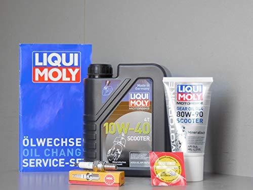 MotorFunSports Alpha Mobil Cappucino 50 - Kit de mantenimiento para bujía de aceite
