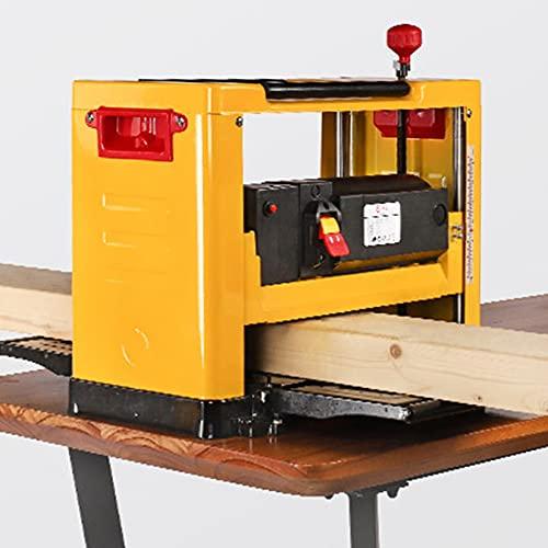 Regruesadora cepilladora 13 Pulgadas, Power Benchtop Conjunto Woodworking Planador Eléctrico 8000R / MIN 2000W regruesadora cepilladora De Escritorio Multifuncional