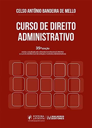 Curso De Direito Administrativo - 35Edição 21