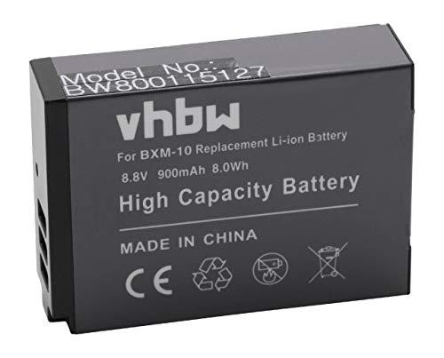 vhbw Li-Ion batteria 900mAh (8.8V) per fotocamera digitale DSLR XiaoYi Yi M1